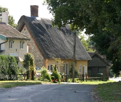 A thatch cottage