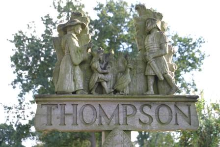 Thompson Village sign